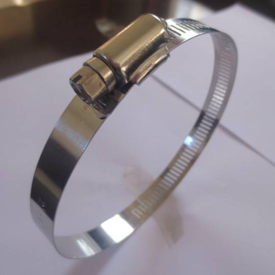 Stainless steel automobile American type hose clamp