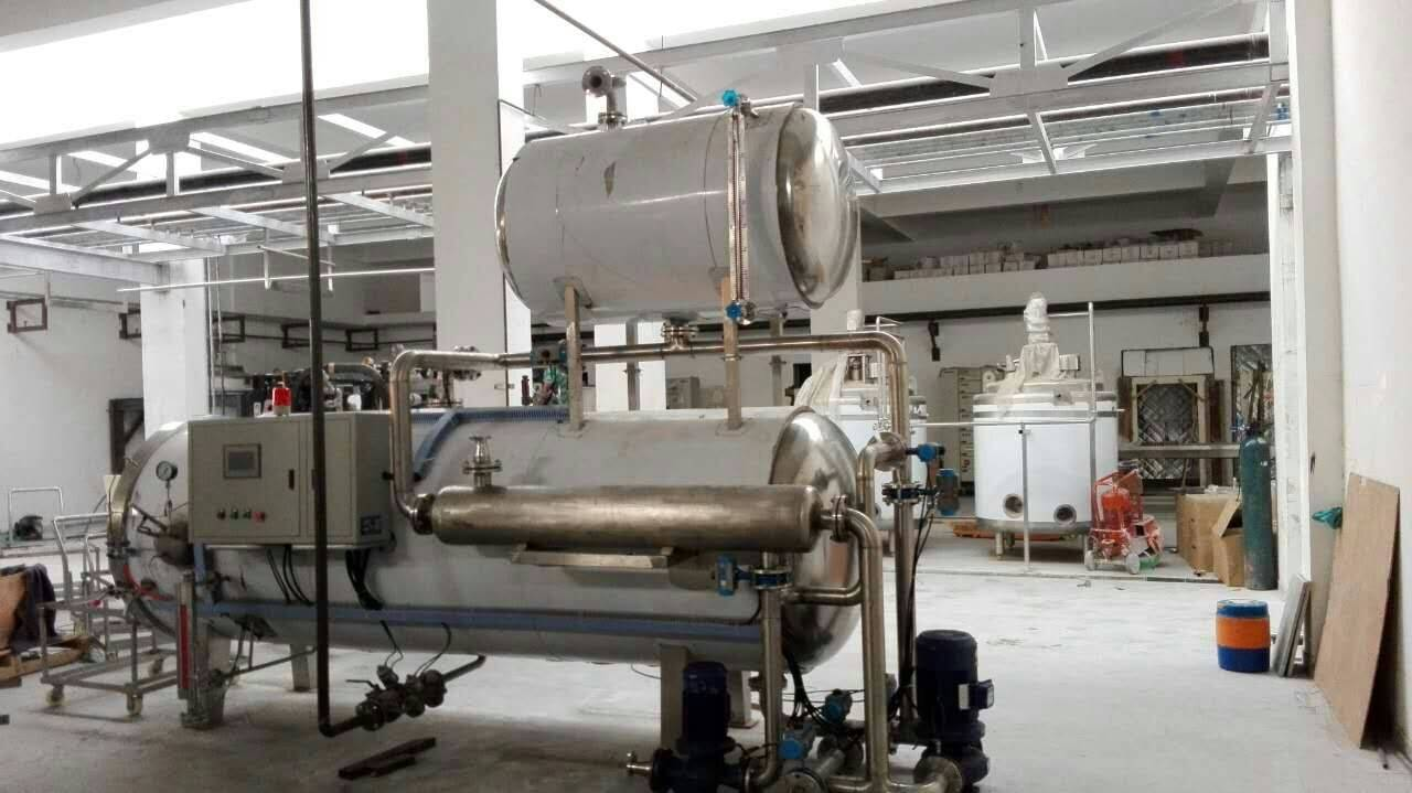 Beef/Fish/Meat Can Food Sterilizer Retort