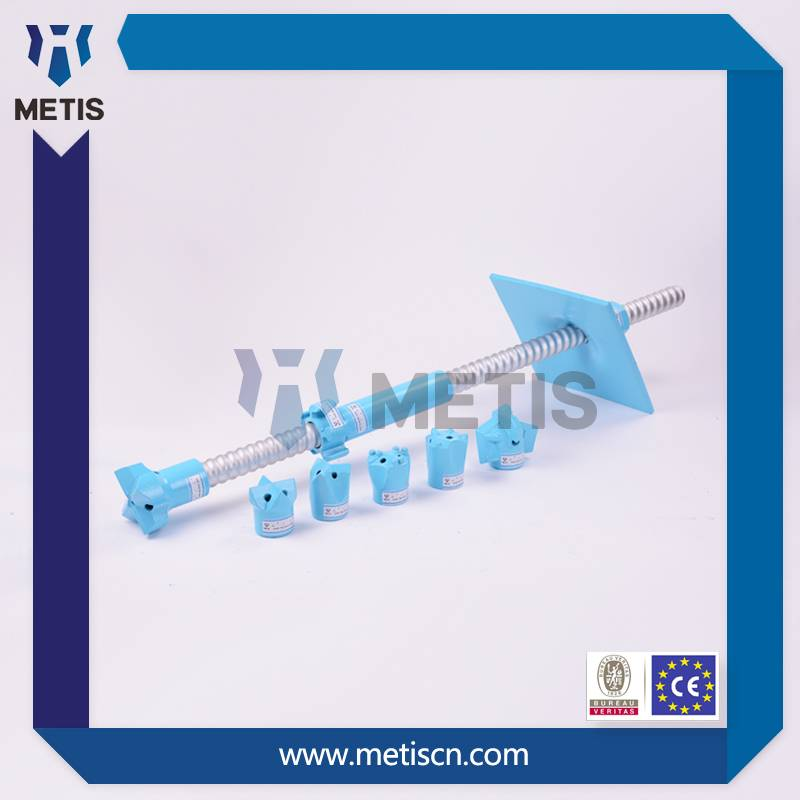 Metis high quality Underground Mining self drilling rock bolts