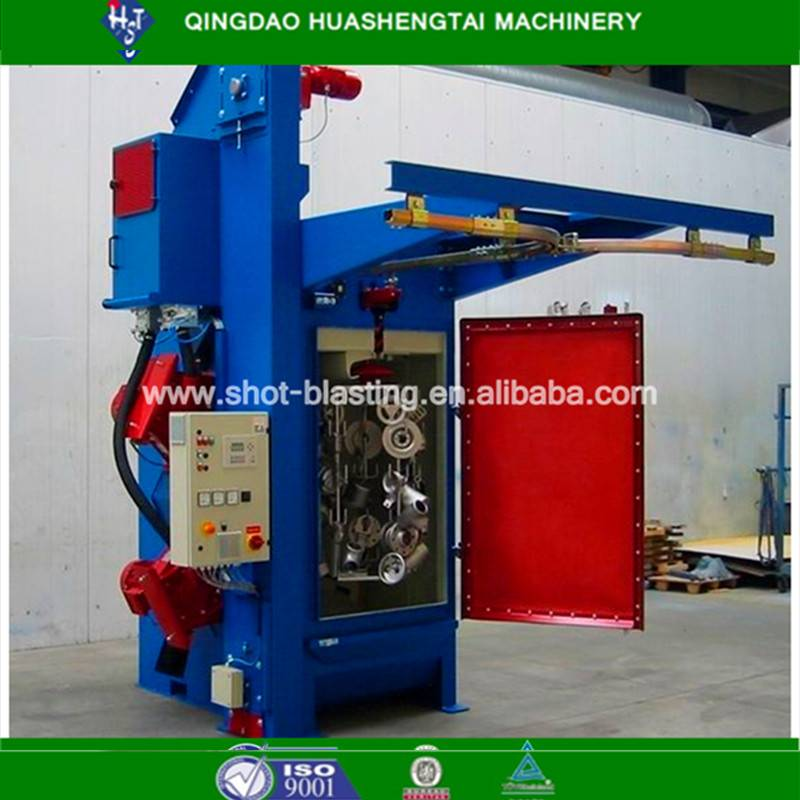 Quality assurance hook type shot blasting/peening machine HQ37 series
