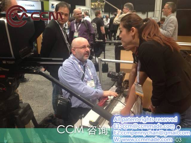 CCM Linear Rails in Time lapse Photography