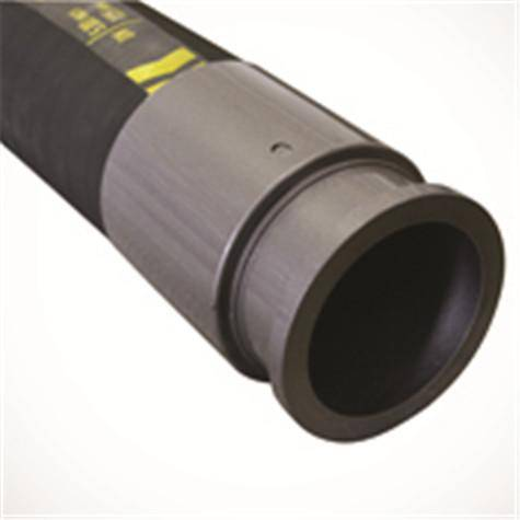 "5"" Steel Wire-Reinforced Concrete Pump Rubber Hose"