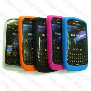 Silicone Skin Cover Case for Blackberry Javelin 8900
