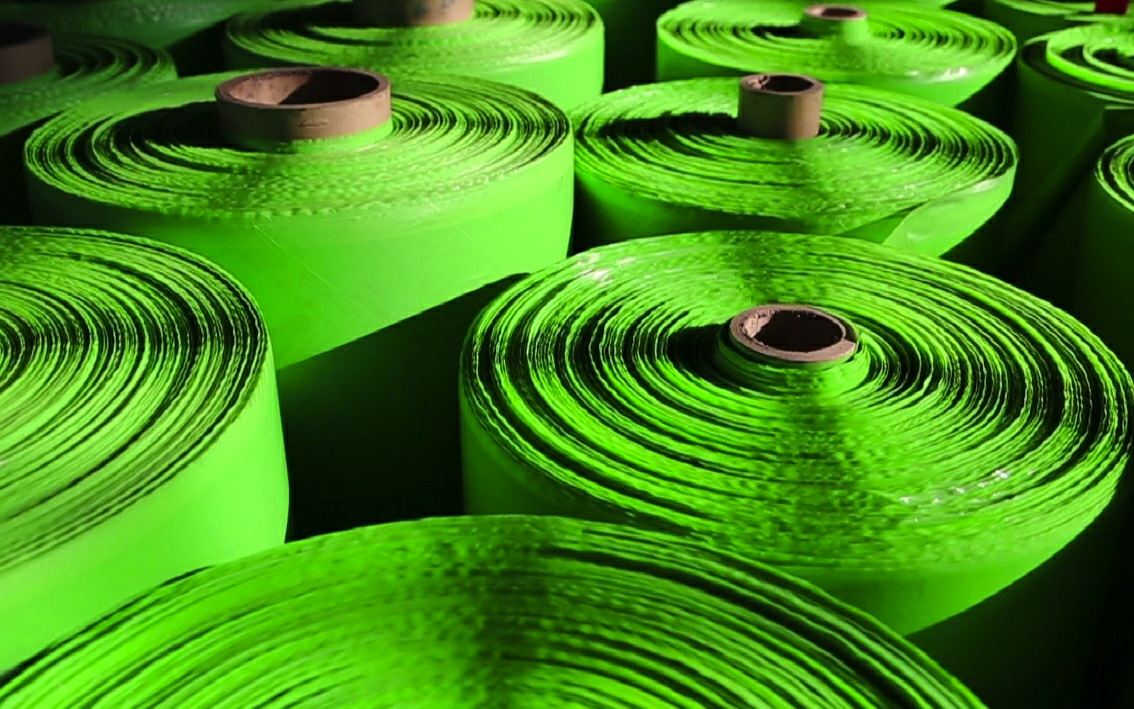 Excellent water-tight Green HDPE Strength Films