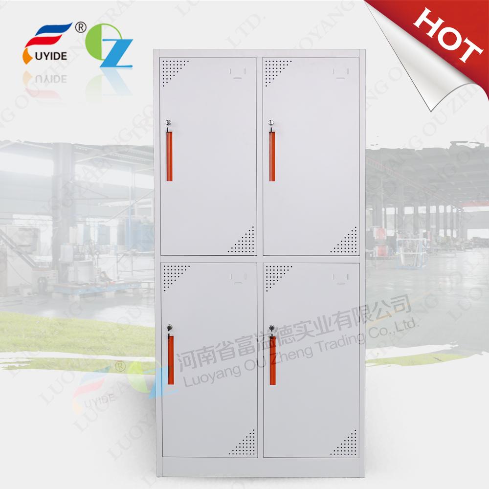 High quality steel designer almirah wardrobe with 4 doors