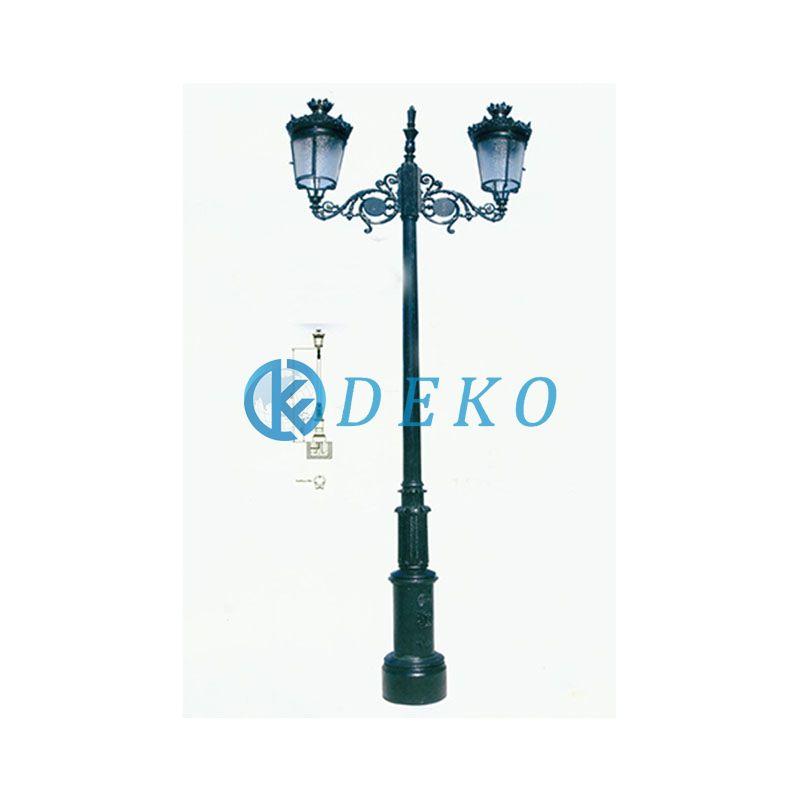 DK CLASSICAL LIGHT POLE 02 DEKO-Ductile Iron Classical LightsPublic Illumination Light