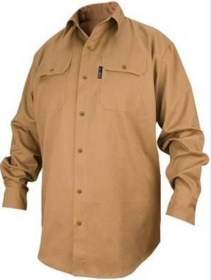 long-sleeved Fire Retardant Cotton Shirt
