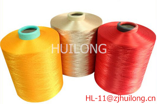 polyester draw texturised yarn dty pty