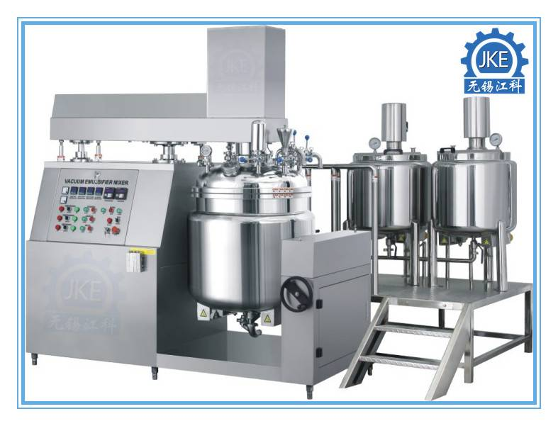Electric or Steam Heating Homogenizer Machine for Custard Sauce Cream Lotion Emulsifying