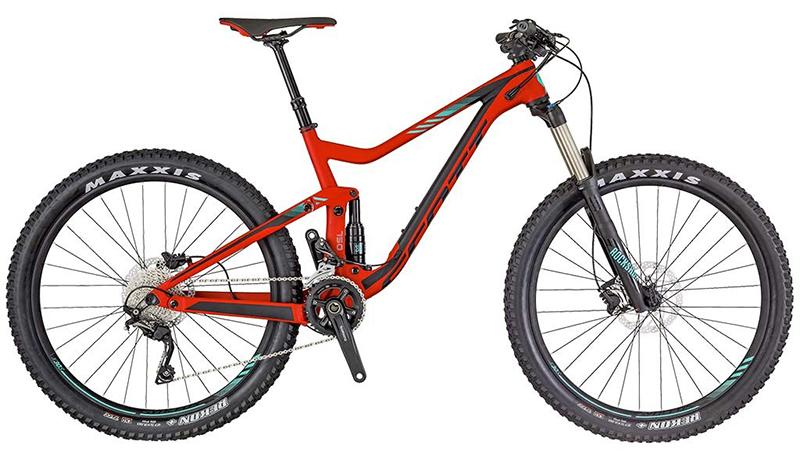 2018 Scott Genius 750 Mountain Bike