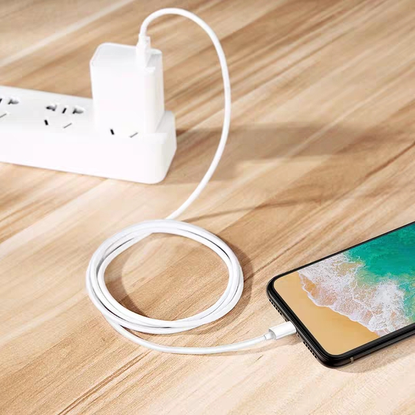 The charging line of Apple mobile phone is lengthened