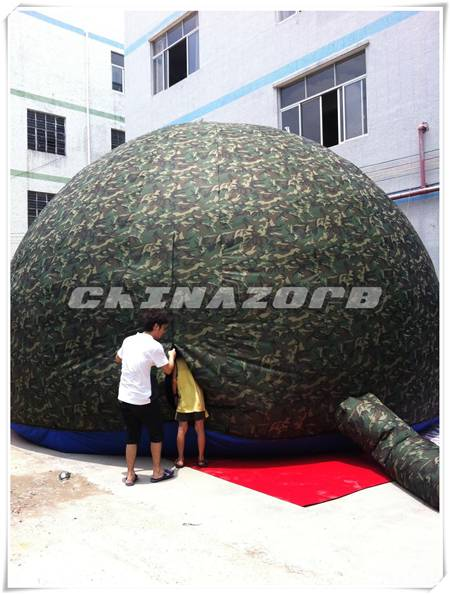 New designed inflatable dome for camping or commercial use