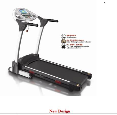Electric Treadmill  with double layer running board