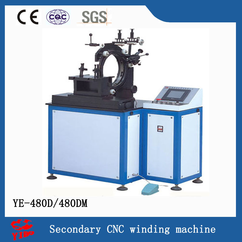 YE-480D/480DM secondary coil CNC winding machine for voltage transformer