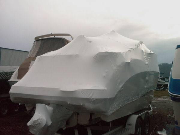 PE shrink wrap films for protective boats, cars, vessel