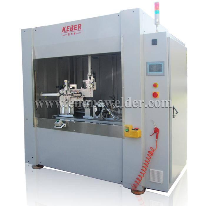 Horizontal hot plate welding machine for plastic pipe/tube
