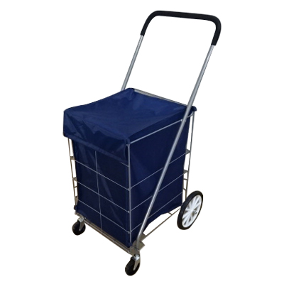 Folding Shopping Cart - Utility Cart,Four wheels shopping cart, vegetable shopping trolley bag