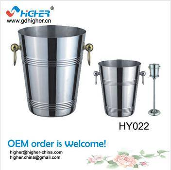 HY022 wholesale Stainless Steel Champagne Bucket