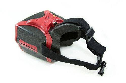 Headplay Goggle 5.8G FPV For Racing qudcopter Red