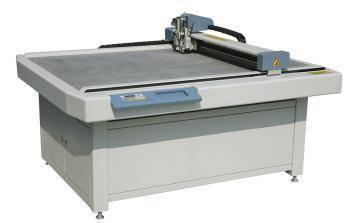 Corrugated paper making machine, cutting machine