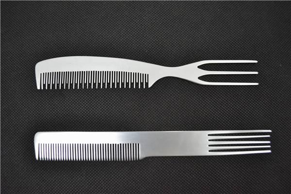 Professional Aluminum Flat Comb Private Label