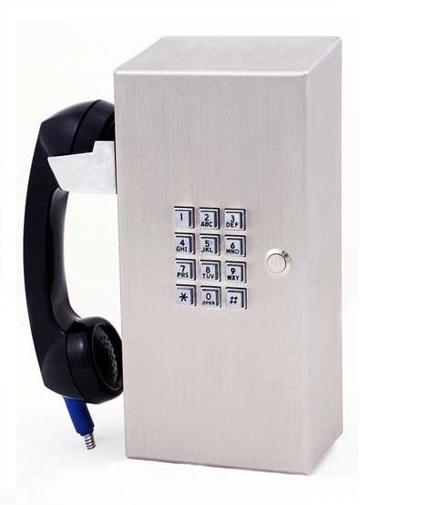 Anti-vandal jail telephone