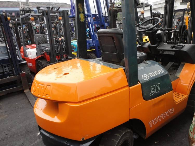 Used Toyota Forklift 4t