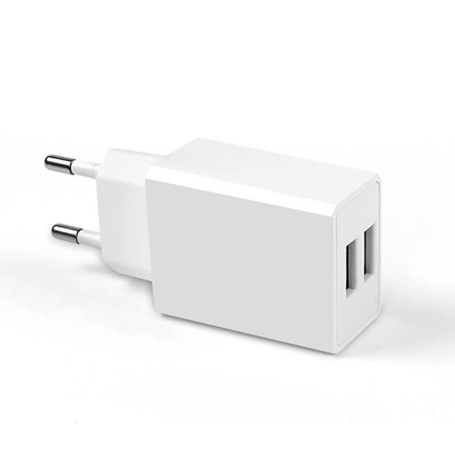 2x Dual Port Phone Wall Charger USB Power Adapter for Europe