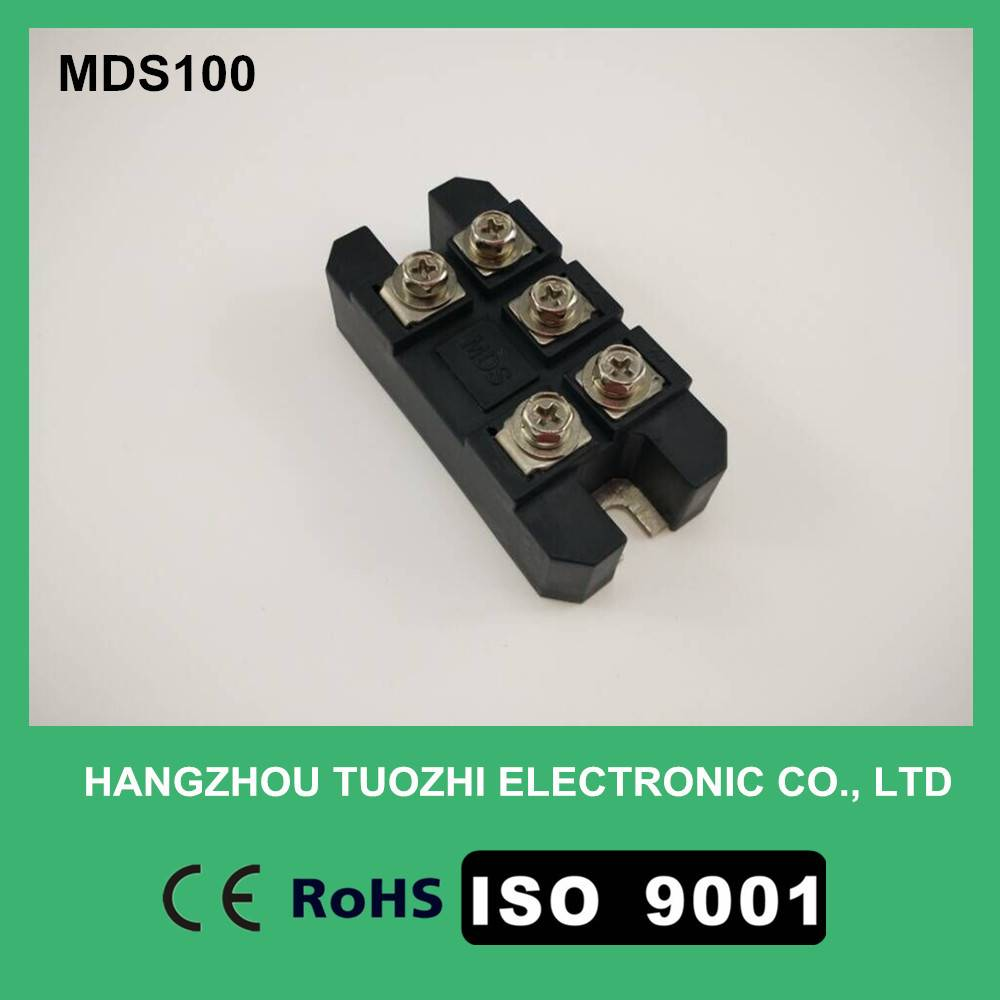 Three phase rectifier bridge module MDS100A1600V