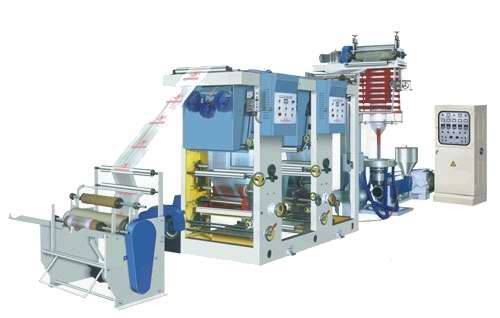 plastic shopping bag production line film blowing machine