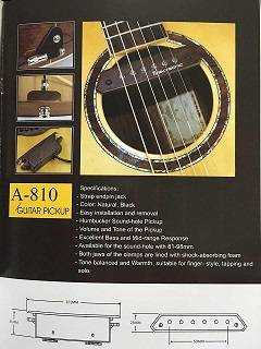 Soundhole Pickup A-810