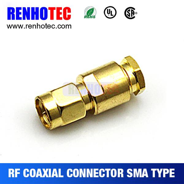 Sma Connector Male Crimp Connector for rg58 Cable