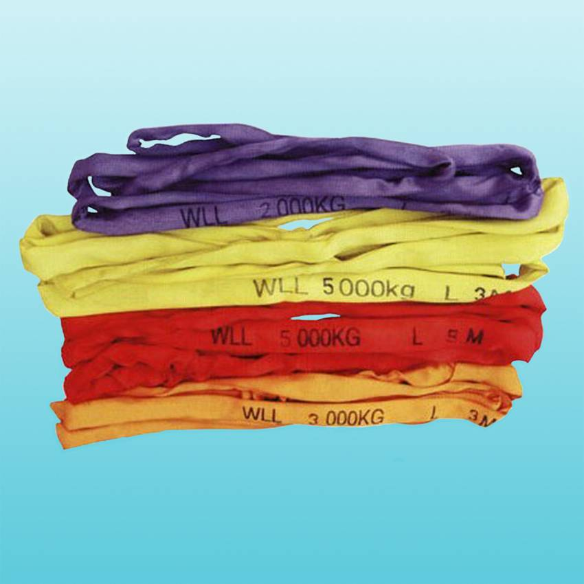 1t-20t polyester webbing sling