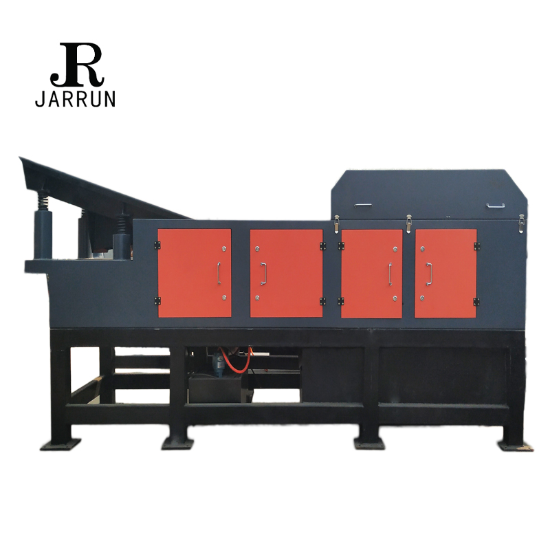 eddy current separator for steel scrap recycling