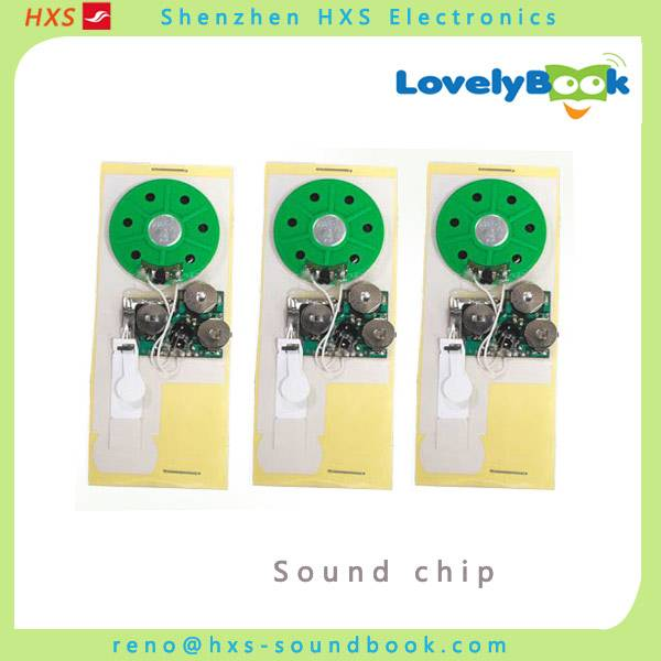 High quality customized greeting card sound module manufacturer