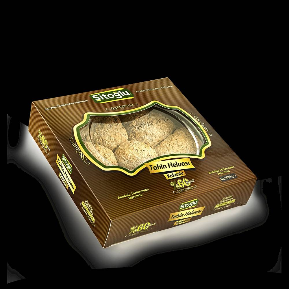 Cocoa Tahini Halva 400gr.