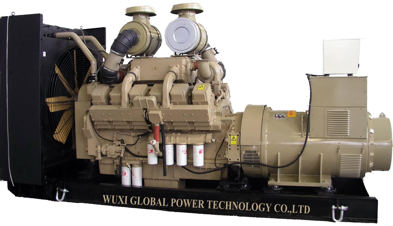 50HZ 400V Cummins 1000kw diesel generator