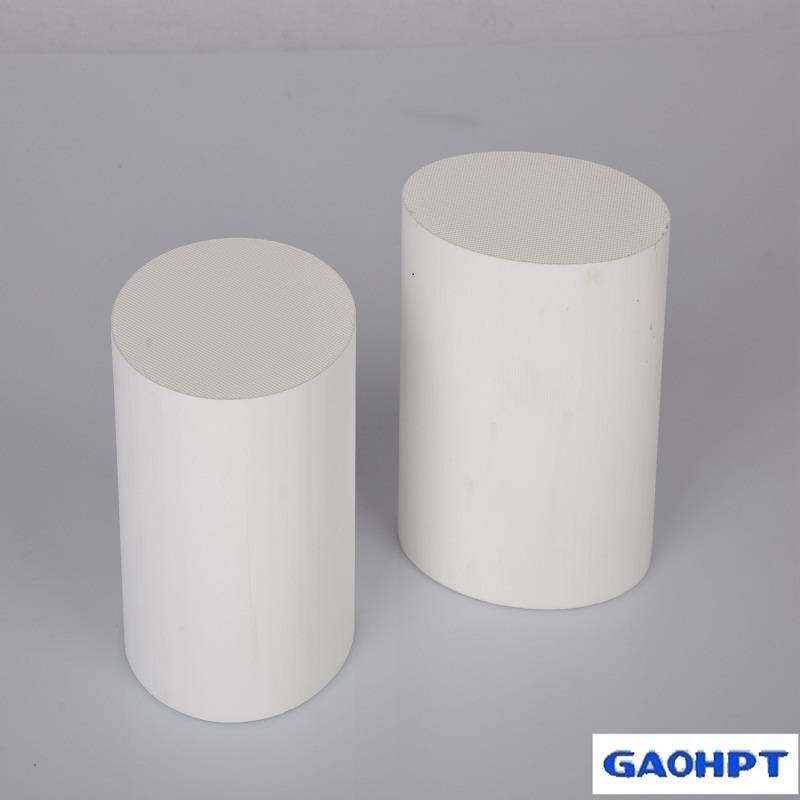 honeycomb ceramic supplier substrate used for car exhaust pipe