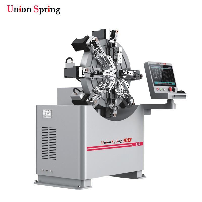 0.3-2.5MM CNC Camless Spring Former Machine