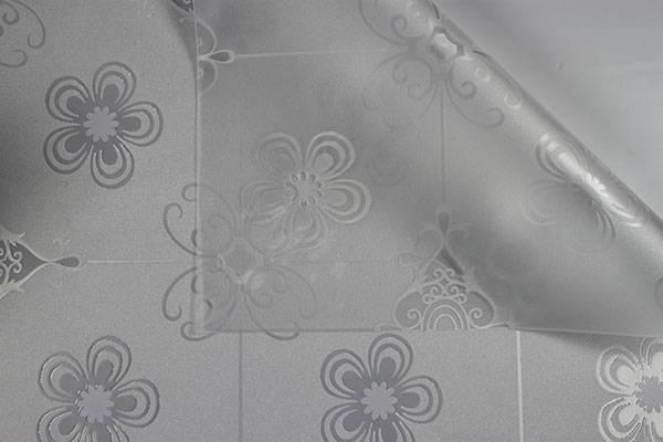 EVA Smooth Friendly Distinctive Crystal Embossing Tablecloth