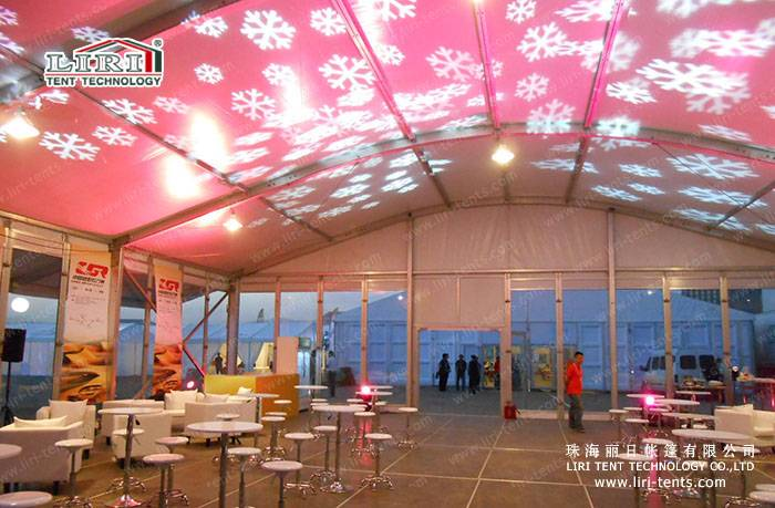 Luxury Big Tent for 500 Banquet Sitting, Banquet Tet for SaleHigh Quality Two Floor Marquee for Big