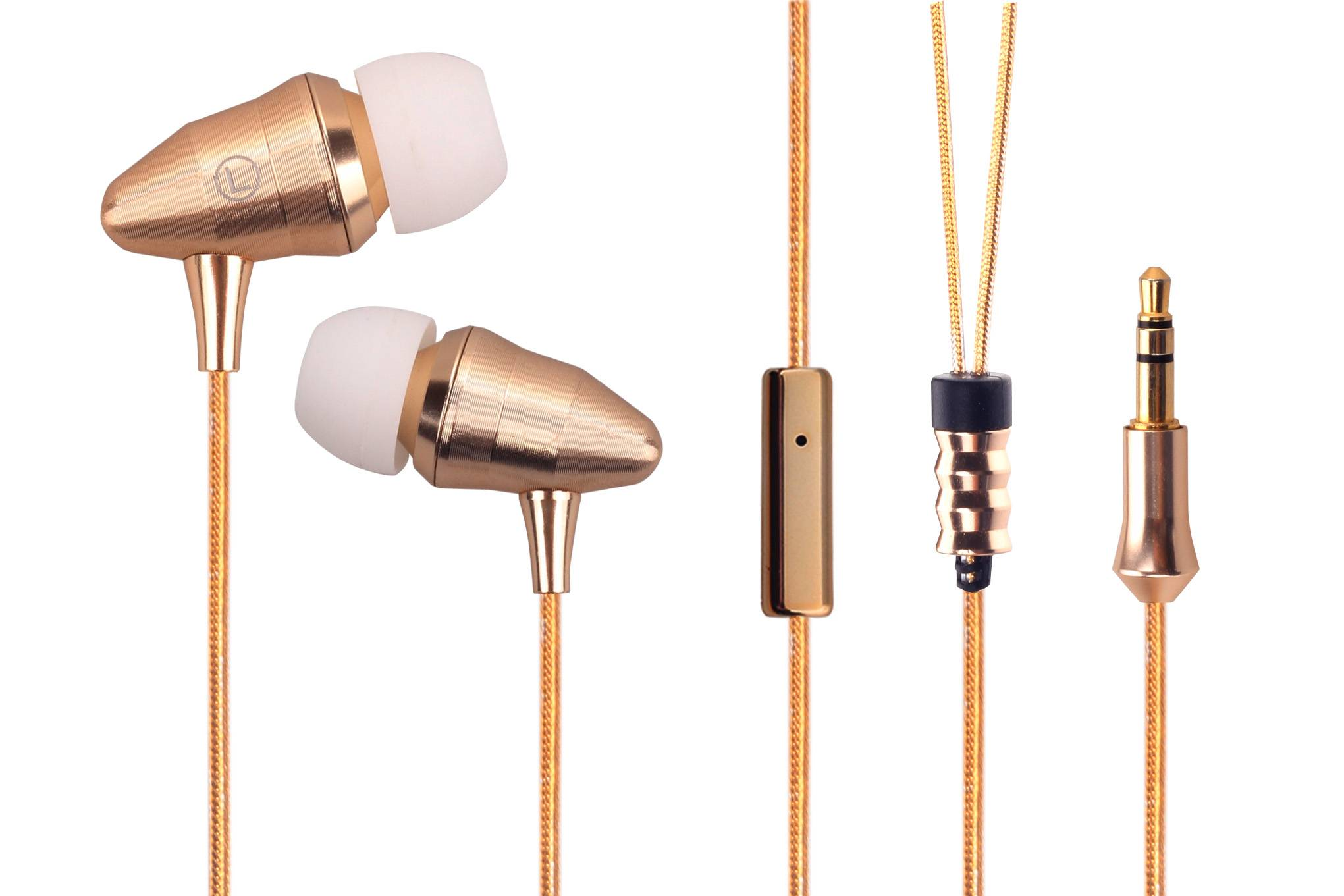 Latest Metal Shell Earphone With Unique Apperance and High Quality Sound-Item EP210