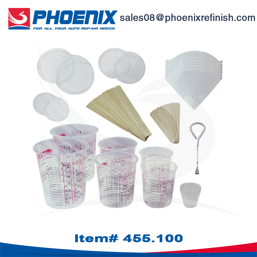 455.100 painting mixing cups, paint mixing essentials Kit,