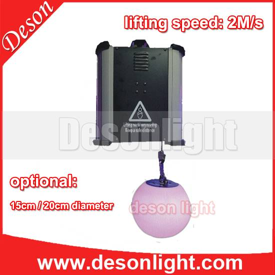 DMX high-speed dmx winch lift led ball