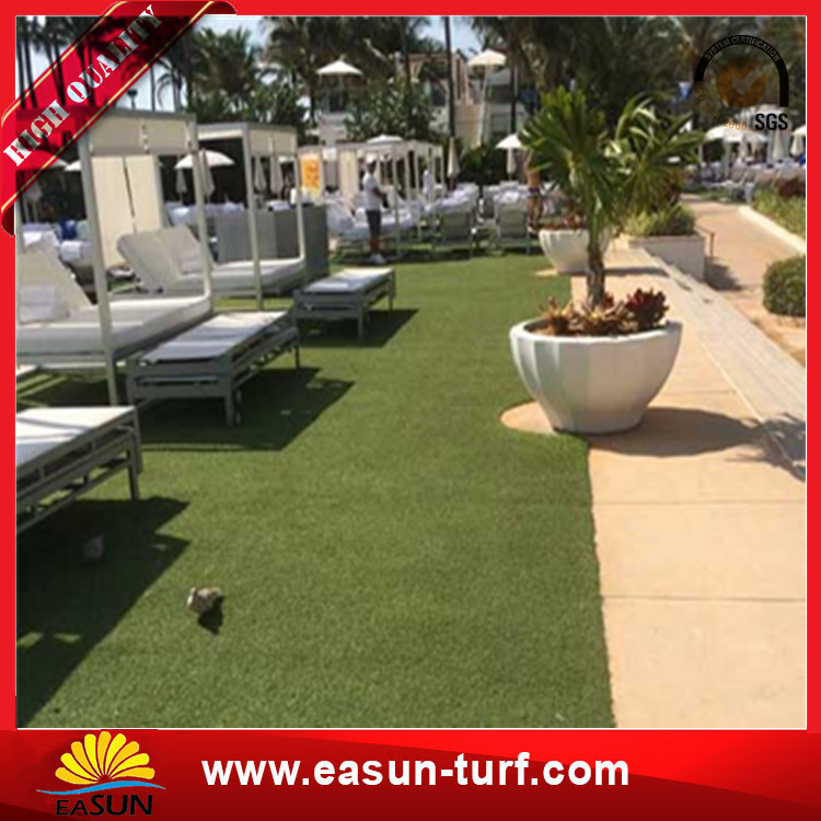 Landscaping decorative cheap artificial turf grass-Donut