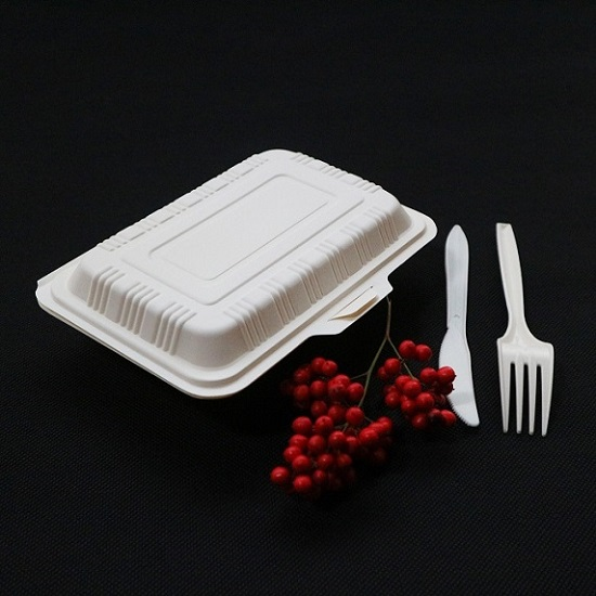 Disposable Areca Palm Leaf Food Container/ Biodegradable Tableware Eco Friendly Party Food Box