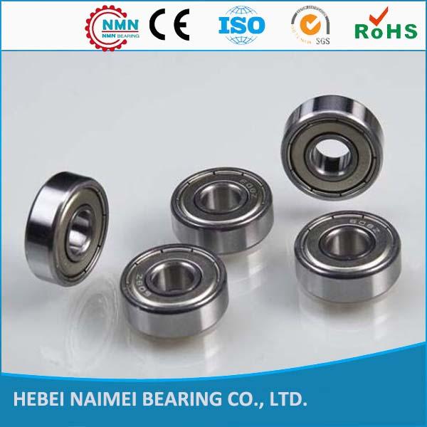Chrome steel 608ZZ deep groove ball bearing 608zzskateboard bearings