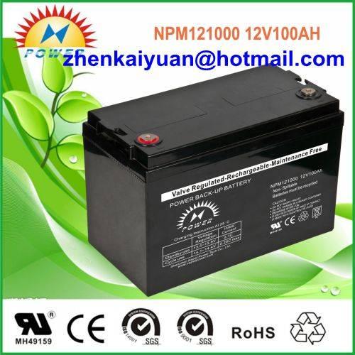 lead acid /sealed /ups/solar/ battery12V100Ah