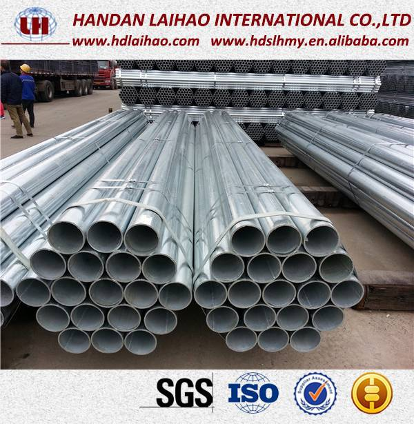 Hot Sale Hot Dipped Galvanized Round Pipe Steel Pipe