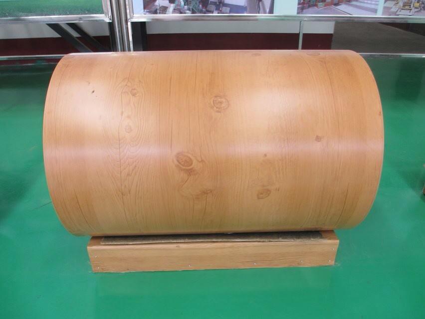 CE wooden color PPGI/prepainted galvanized steel coil